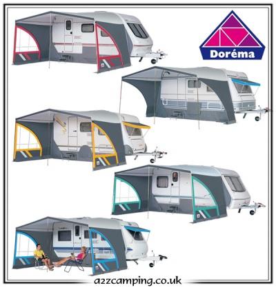 Dorema Panorama Luxury Caravan Sun Canopy